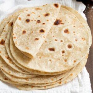 chapati bread sample